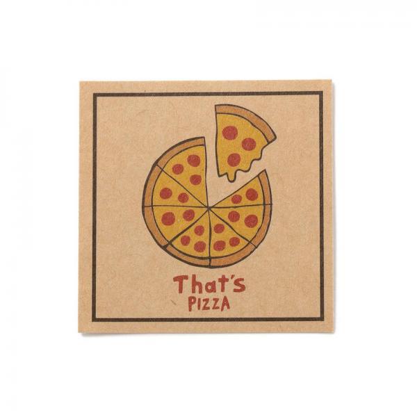 周防タコとアンチョビのガーリックピザ